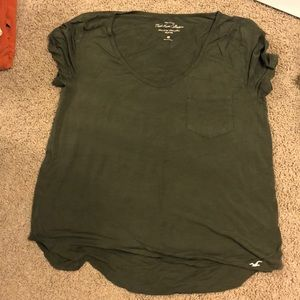 Hollister V neck top